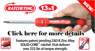 MegaPro Ratcheting Screwdriver