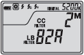 LB/CC Filter Number Display